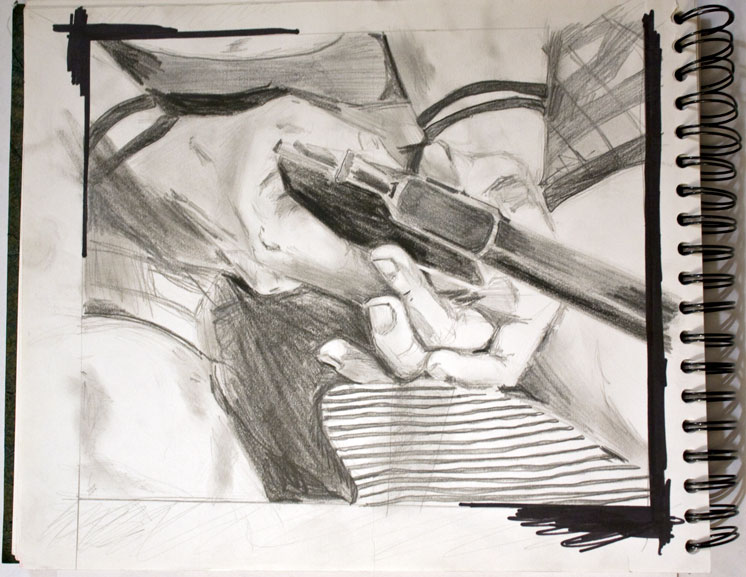 larry clark drawing