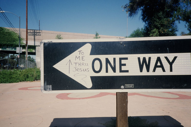 one way to me