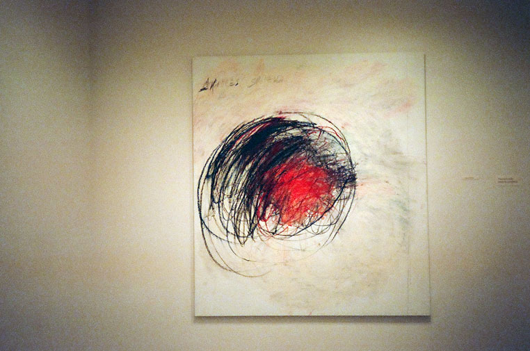 cy twombly-50 days 1