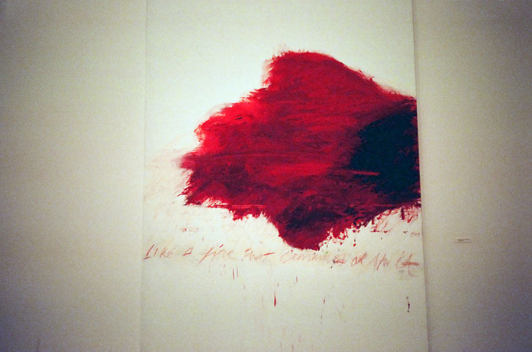 cy twombly-50 days 2